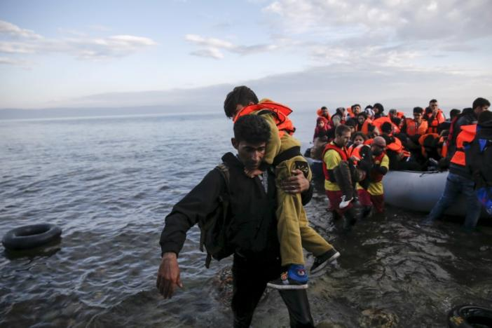 Mediterranean migrant crossings to Italy double in a year