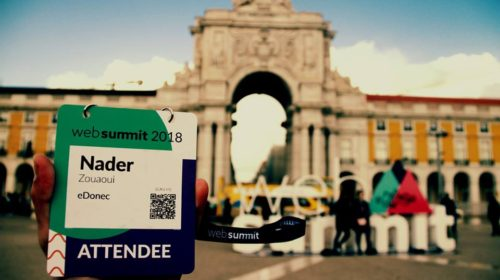 Tunisian start-up eDonec takes part in Web Summit held in Lisbon