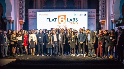 Seven new innovative startups selected by Flat6labs Tunis to support them in launching their projects