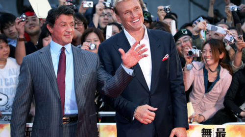 Sylvester Stallone and Dolph Lundgren in Tunisia at the invitation of Tourism Minister