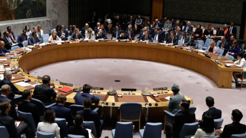 UN Security Council adopts resolution to halt all conflicts amid virus