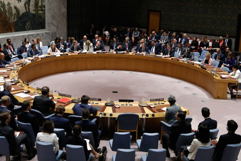 File photo of the U.N. Security Council (REUTERS)