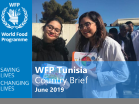 WFP enhances National School Feeding Programme  in Tunisia