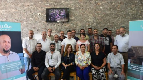 Mashrou3i project initiative for olive oil platform in Beja closes in Ben Ismail family reserve