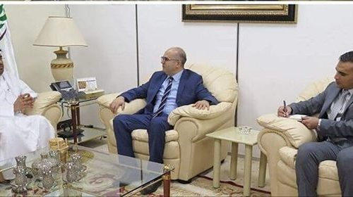 AAAID President meets with Tunisian Ambassador in Khartoum