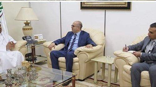 AAAID President meets with Tunisian Ambassador in Khartoum