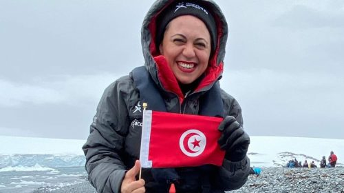 Samia Elfekih: Tunisian researcher in Antarctica for the first time