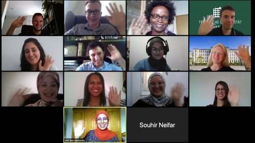 Virtual Summer School Enabled Professional and Intercultural Exchange Between Germany and Tunisia